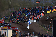 Cairoli takes a quick look and manages his lead
