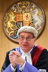 Judge sitting in Liverpool Crown Court