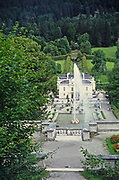 Linderhof Palace schloss built by King Ludwig second, Bavaria, Germany in 1960s