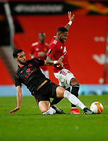 Football - 2020 / 2021 EUFA Europa League - Round of 32 - Second Leg - Manchester United  vs Real Sociedad - Old Trafford<br /> <br /> at Old Trafford<br /> <br /> Credit COLORSPORT/LYNNE CAMERON