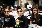 June 10-16, 2019: 24 hours of Le Mans. 7 Kamui kobayashi, Toyota Gazoo Racing, TOYOTA TS050 - HYBRID. 7 Mike Conway, Toyota Gazoo Racing, TOYOTA TS050 - HYBRID , driver's parade