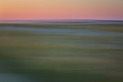 abstract of the bay in The Hamptons