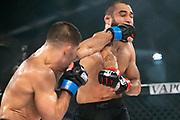MMA: GMC, Hamburg, 12.10.2019<br /> Federgewicht, Titelkampf: Saba Bolaghi (MMA Spirt) - Oemer Solmaz (NFT Gym Hamburg)<br /> © Torsten Helmke