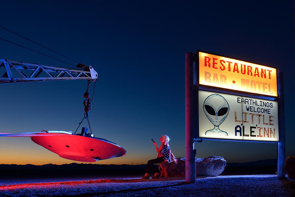 American Dreamscapes Alien Night/2014
