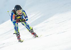 HROVAT Ursa  of Slovenia during Women's Super Combined Slovenian National Championship 2014, on April 1, 2014 in Krvavec, Slovenia. Photo by Vid Ponikvar / Sportida