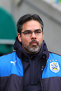 Huddersfield Town Manager David Wagner looks on. Skybet football league Championship match, Huddersfield Town v Sheffield Wednesday at the John Smith's Stadium in Huddersfield, Yorkshire on Saturday 2nd April 2016.<br /> pic by Chris Stading, Andrew Orchard sports photography.