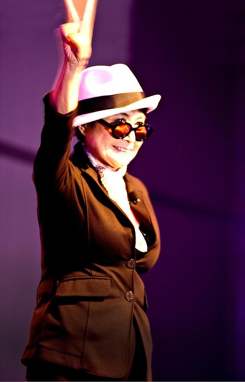 Yoko Ono, SXSW 2011, interviewed by Jody Denberg of KGSR-FM, Austin, Texas
