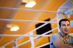 16.04.2013, Stanglwirt, Going, AUT, Wladimir Klitschko, im Portrait, im Bild Schwergewichts Champion Wladimir Klitschko waehrend eines Interviews // Heavyweight champion Wladimir Klitschko during a  Interview at the Hotel Stanglwirt, Going, Austria on 2013/04/16. EXPA Pictures © 2013, PhotoCredit: EXPA/ Juergen Feichter