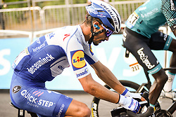 Julian ALAPHILIPPE (FRA) pictured at the end of stage 19 of Tour de France cycling race, over 166,5 kilometers (103.4 miles) with start in Bourg-en-Bresse and finish in Champagnole, France,Friday, September 18, 2020.//JEEPVIDON_1615007/2009191625/Credit:jeep.vidon/SIPA/2009191634 / Sportida