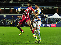Football - 2020 / 2021 Sky Bet Championship - Queens Park Rangers vs Stoke City - The Kiyan Prince Foundation Stadium<br /> <br /> Jacob Brown of Stoke City<br /> <br /> <br /> COLORSPORT/ANDREW COWIE