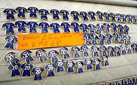 Photo: Javier Garcia/Digitalsport<br /> 23/10/2004 Chelsea v Blackburn, FA Barclays Premiership, Stamford Bridge<br /> Adrian Mutu merchanside is still being sold outside Stamford Bridge