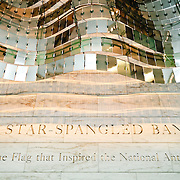The entrance to the Star Spangled Banner exhibit at the National Museum of American History of the Smithsonian Institution