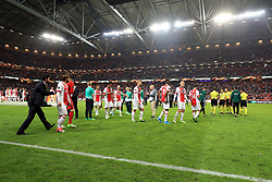 24 May 2017 - UEFA Europa League Final - Ajax v Manchester United - Dejected Ajaz players after collecting their losers medals - Photo: Marc Atkins / Offside.