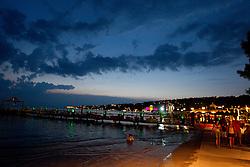 Coast of Portoroz on July 24, 2010 in Portoroz / Portorose, Slovenia. (Photo by Vid Ponikvar / Sportida)