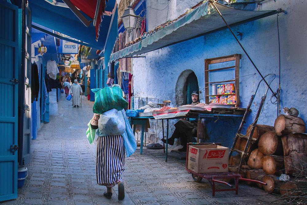 Chefchaouen Alley