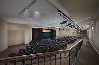 Interior Design image of the  Charlestown Senior Living Edgewood Apartment Building Theater Interior in Catonsville, MD by Jeffrey Sauers of Commercial Photographics