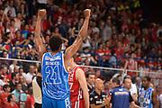 DESCRIZIONE :  Lega A 2014-15  EA7 Milano -Banco di Sardegna Sassari playoff Semifinale gara 5<br /> GIOCATORE : Brooks Jeff<br /> CATEGORIA : Low Esultanza Mani <br /> SQUADRA : Banco di Sardegna Sassari<br /> EVENTO : PlayOff Semifinale gara 5<br /> GARA : EA7 Milano - Banco di Sardegna Sassari PlayOff Semifinale Gara 5<br /> DATA : 06/06/2015 <br /> SPORT : Pallacanestro <br /> AUTORE : Agenzia Ciamillo-Castoria/Richard Morgano<br /> Galleria : Lega Basket A 2014-2015 Fotonotizia : Milano Lega A 2014-15  EA7 Milano - Banco di Sardegna Sassari playoff Semifinale  gara 5<br /> Predefinita :