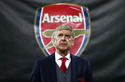 FILE PHOTO: Arsene Wenger is to leave Arsenal at the end of the season, ending a near 22-year reign as manager<br /><br />Arsenal manager Arsene Wenger ... AC Milan v Arsenal - UEFA Europa League - Round of 16 - First Leg - San Siro ... 08-03-2018 ... Milan ... Italy ... Photo credit should read: Tim Goode/EMPICS Sport. Unique Reference No. 35425501 ...