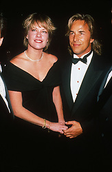 Feb 15, 1989; Los Angeles, CA, USA; Pregnant MELANIE GRIFFITH with future husband DON JOHNSON @ the Westwood One Party..  (Credit Image: Laura Luongo/ZUMAPRESS.com)
