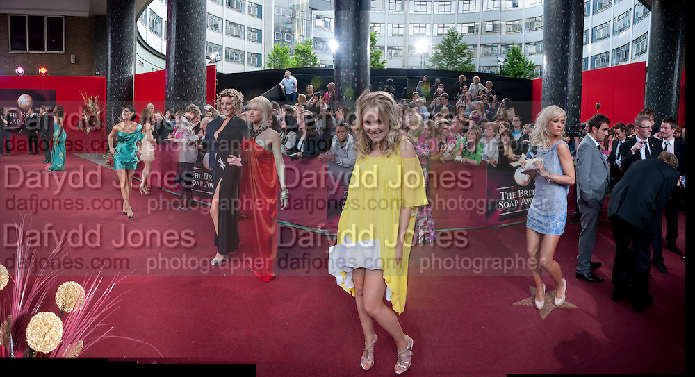 Kym Marsh; Bronagh Waugh; Zoe Lister;Katherine Kelly;  2009 Soap Awards, BBC Television Centre. London. 9 May 2009.