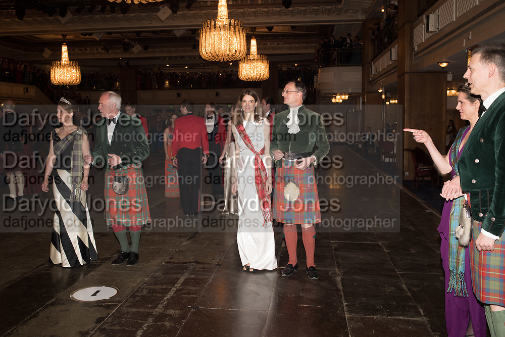 VIOLET FRASER, The Royal Caledonian Ball 2017, Grosvenor House, 29 April 2017