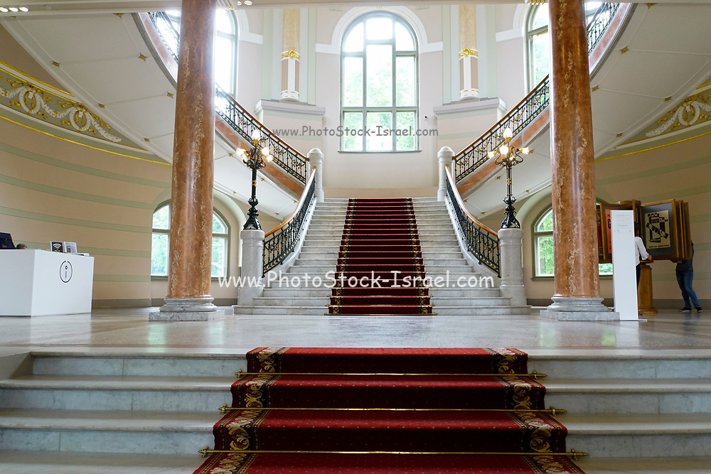 Interior of the Latvian Centre for Contemporary Art (LCCA)