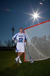 25 January 2012: Midfielder Justin Turri of the Duke Blue Devils. (Photo by: Peyton Williams/Inside Lacrosse)