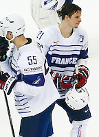 Deceptions Antoine Roussel - 07.05.2015 - Republique Tcheque / France - Championnat du Monde de Hockey sur Glace <br />