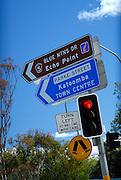 Sign post, Blue Mountains,  Australia