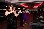 KATHY CHILD-VILLIERS; REBECCA SHELLEY,  The Game Conservancy Trust Ball. Intercontinental Hotel. 10 June 2009.