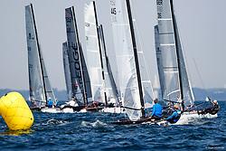 , Travemünde - Mövensteinregatta 07. - 09.08.2020, Formula 18 - GER 445 - KROENERT - Thomas NEUDAHL - Liam BORDON - Yachtclub Scharbeutz_Ostsee e.V