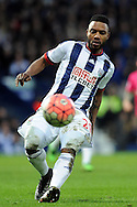 West Brom's Stephane Sessegnon in action. The Emirates FA Cup, 4th round match, West Bromwich Albion v Peterborough Utd at the Hawthorns stadium in West Bromwich, Midlands on Saturday 30th January 2016. pic by Carl Robertson, Andrew Orchard sports photography.