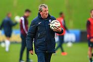 Roy Hodgson, England manager - England Training & Press Conference - UEFA Euro 2016 Qualifying - St George's Park - Burton-upon-Trent - 11/11/2014 Pic Philip Oldham/Sportimage