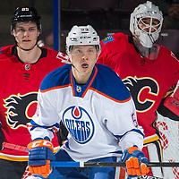 090817 Calgary Flames v Edmonton Oilers