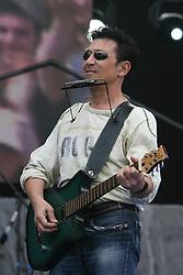 Rome/Italy -  I° Maggio 2006 - The Concert in Piazza San Giovanni. Edoardo Bennato