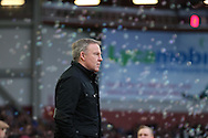 Kenny Jackett, the Wolverhampton Wanderers manager looks on before k/o. The Emirates FA cup, 3rd round match, West Ham Utd v Wolverhampton Wanderers at the Boleyn Ground, Upton Park  in London on Saturday 9th January 2016.<br /> pic by John Patrick Fletcher, Andrew Orchard sports photography.