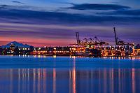 Mount Baker & Port of Vancouver