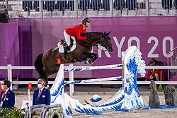 Tebbel Maurice, GER, Don Diarado, 345<br /> Olympic Games Tokyo 2021<br /> © Hippo Foto - Dirk Caremans<br /> 07/08/2021