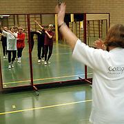Ingebruikname nieuwe spigelwanden gift Rabobank Huizen aan Turnlust