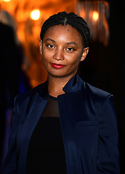 Rungano Nyoni attending the BFI Luminous Fundraising Gala held at the Guildhall, London. PRESS ASSOCIATION Photo. Picture date: Tuesday October 3, 2017. Photo credit should read: Ian West/PA Wire