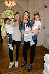 JESSICA SIMON and her son LUCA, CAMILLA SIMON and her daughter INDIANA at a children's tea party to celebrate the 80th anniversary of iCandy - the luxury British pushchair brand held at One Marylebone, Marylebone Road, London NW1 on 10th September 2013.