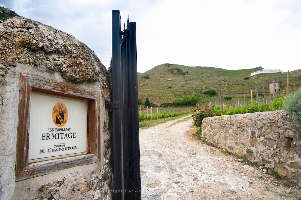 le pavillon ermitage vineyard domaine m chapoutier hermitage rhone france