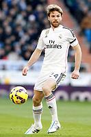 Real Madrid's Asier Illarramendi during La Liga match.January 31,2015. (ALTERPHOTOS/Acero)