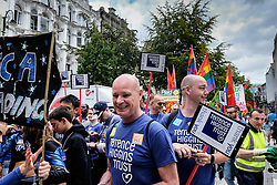 Cardiff Pride parade. 2014