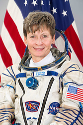October 27, 2016 - File - Iowa native PEGGY WHITSON keeps piling up firsts in her long career as an astronaut. In two weeks, she will rocket into space again on her third mission to the International Space Station. She was its first female commander in 2007 and will become the first woman to ever command the space station twice. Combined with her 2002 mission, has logged the most days in space of any female in NASA history, 377. Pictured: February 12, 2016 - Star City, Russia - International Space Station Expedition 50 NASA astronaut Peggy Whitson official portrait wearing the Sokol space suit May 13, 2016 at Star City, Russia. (Credit Image: © NASA/ZUMAPRESS.com)