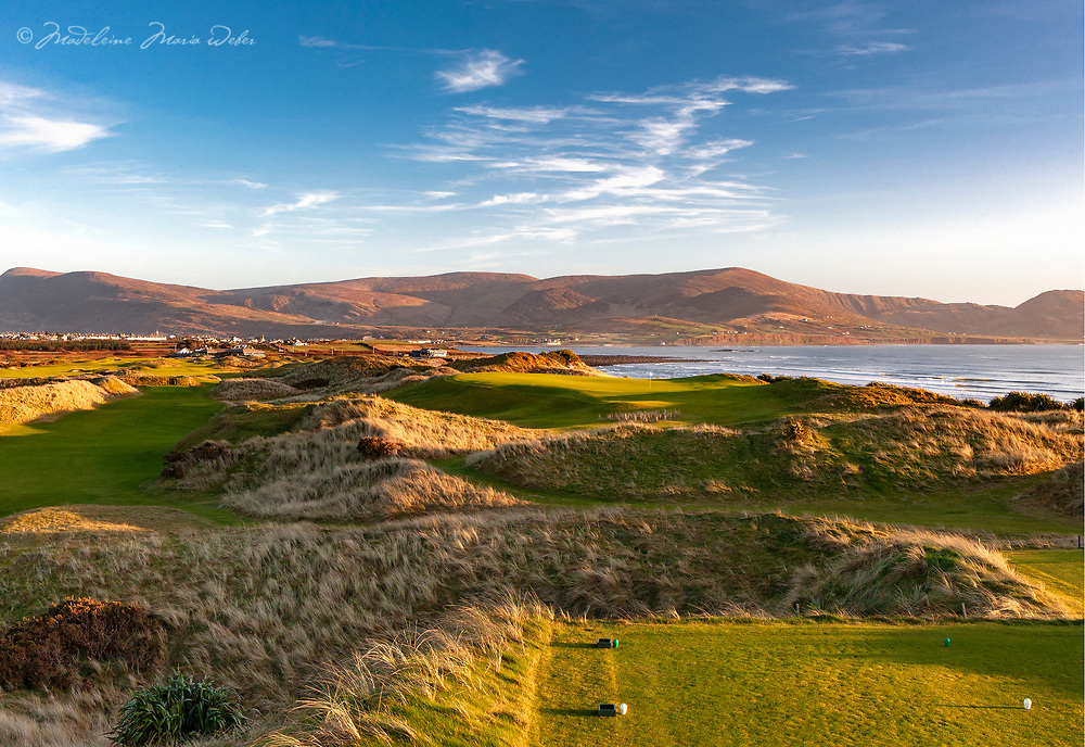 17th Hole - Mulcahy's Peak - Waterville Golf Links <br /> Limited Edition print of 25<br /> <br /> ********<br /> Sign up for new photograph releases of Waterville Links here<br /> <br /> https://tinyurl.com/WatervilleGolfLinksReleases