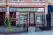 """InSearchofShalom.com, a """"cooperative project of Jewish and Gentile believers in Jesus,"""" 1811 Flatbush Avenue, Brooklyn."""