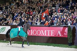 Guerdat Steve, (SUI), Nino Des Buissonnets <br /> Grand Prix ROLEX<br /> Genève 2015<br /> © Hippo Foto - Dirk Caremans<br /> 13/12/15