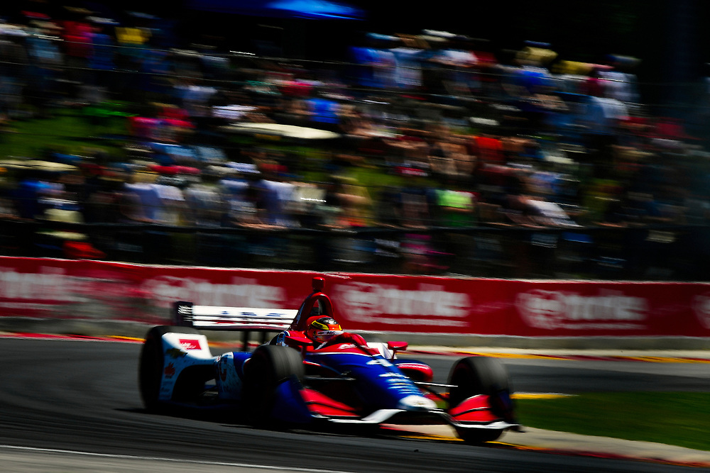 Matheus Leist, A.J. Foyt Enterprises Chevrolet<br /> Sunday 24 June 2018<br /> KOHLER Grand Prix at Road America<br /> Verizon IndyCar Series<br /> Road America WI USA<br /> World Copyright: Scott R LePage
