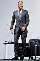 October 4, 2017 - Tokio, Tokio, Japan - David Beckham bei einer Pressekonferenz zum Werbevertrag mit den Las Vegas Sands Casinos im Palace Hotel. Tokio, 04.10.2017 (Credit Image: © Future-Image via ZUMA Press)